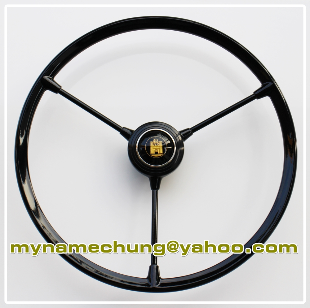 Barndoor steering wheel 3 spoke style for Volkswagen bus